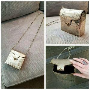 Handbags - Vintage Metal Crossbody Tin Boho Bag Purse